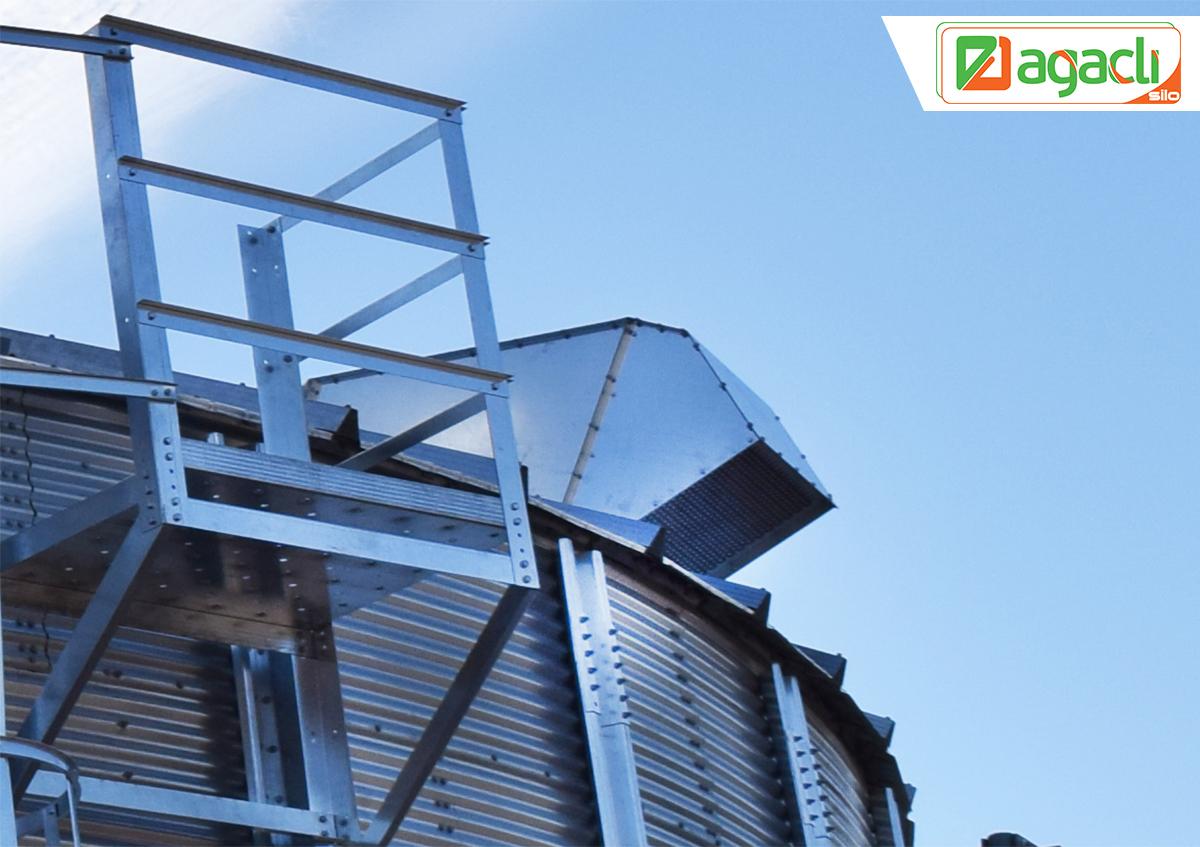 Roof Exhaust Fan   AĞAÇLI SİLO